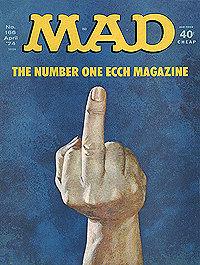 tapa de una MAD, créditos a Doug Gilford